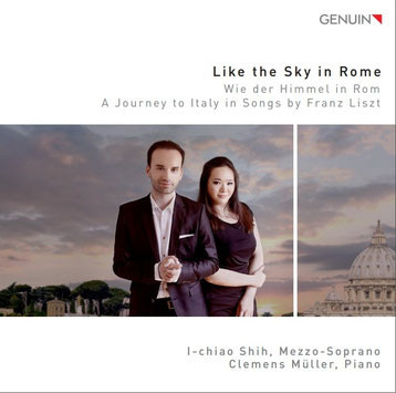 "Aktuelle CD    ""Like the Sky in Rome""   5.Feb  2016 GENUIN"