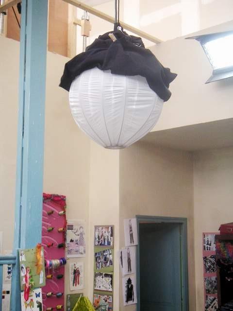 Ballon à l'atelier de Charlotte