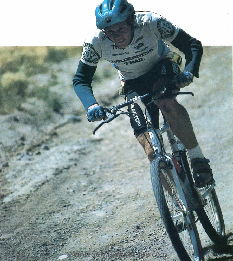 1987-Roy Rivers on a WTB-Team Trek with LD stem and flat bars