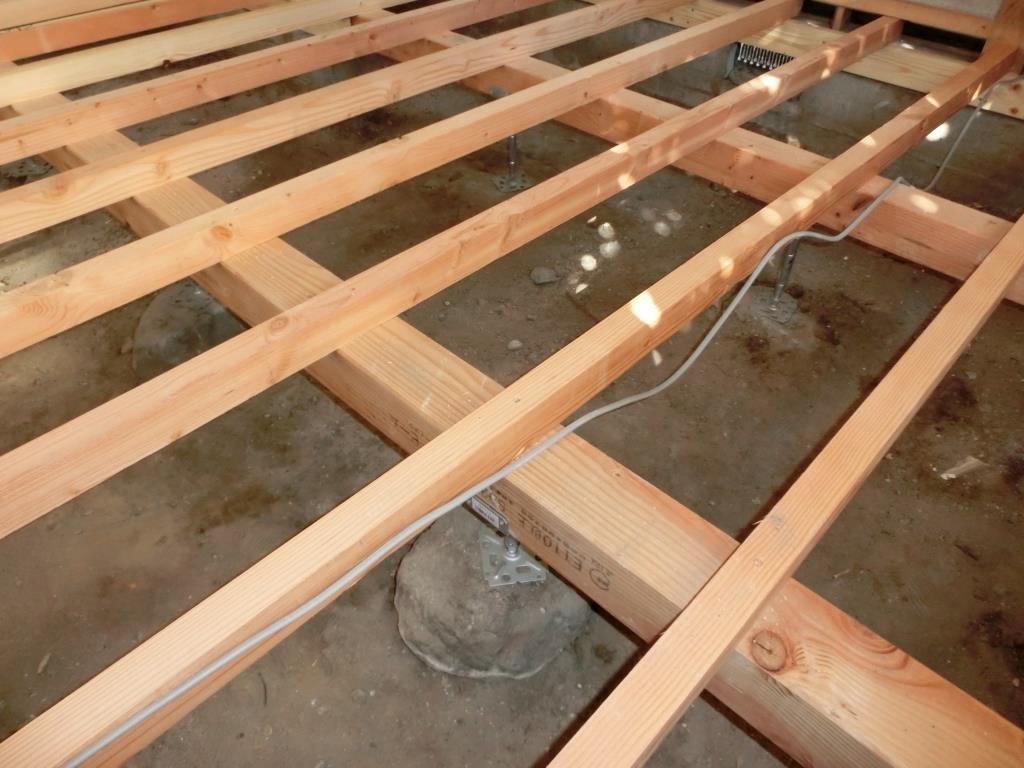 13.解体した床組を、新しい床組に!