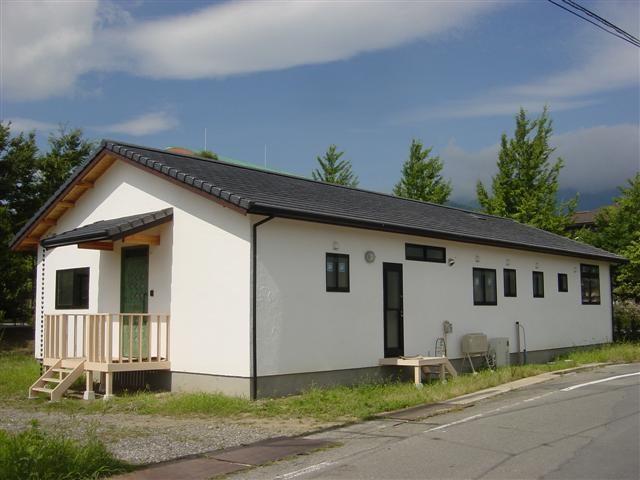 伊藤邸完成!北側の外観です。シンプル いず ベスト!