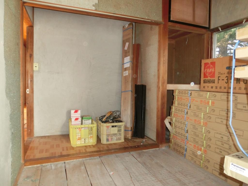 5.和室その2、入口の位置も変えて、クローゼットも作ります。