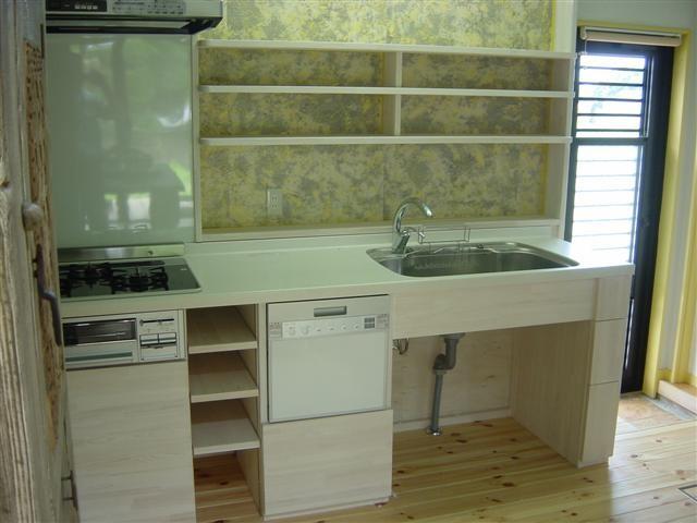 大工さんの手作りキッチンです!