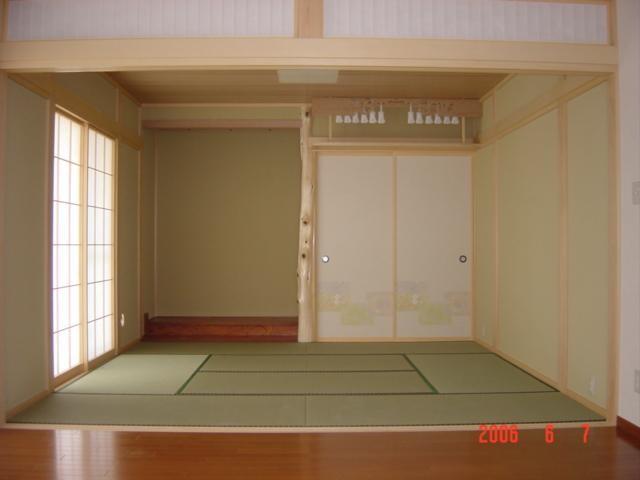 和室いかがですか?空気の違いを感じます。