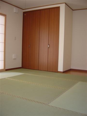 和室は洋風なセンスで仕上げました。