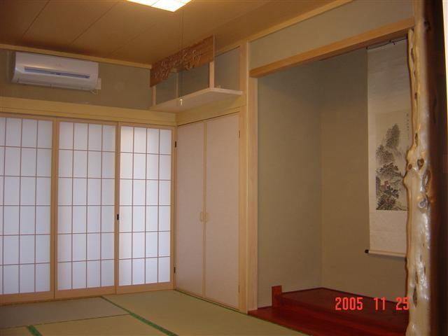和室があると家に落ち着きが出てきます。