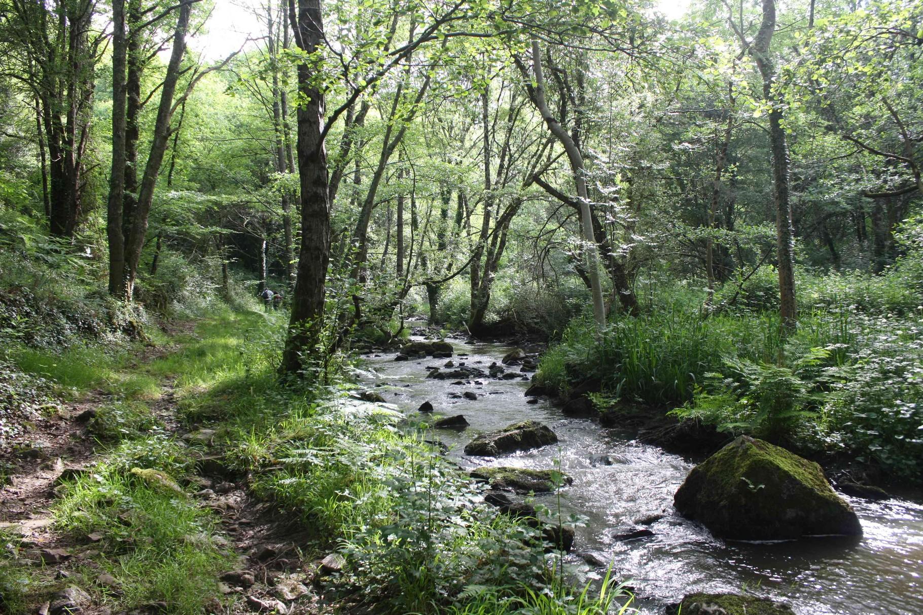Club de randonnée de Romorantin Sologne - sortie à Chaillac dans l'Indre, vallée de la Creuse