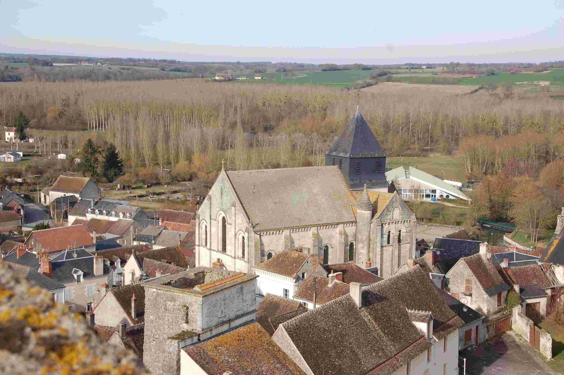 Club de randonnée de Romorantin Sologne - sortie au Tranger dans l'Indre, entre Valençay et Châtillon-sur-Indre