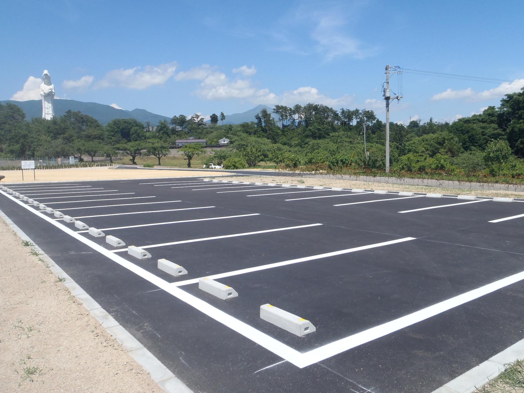 竣工写真 駐車場