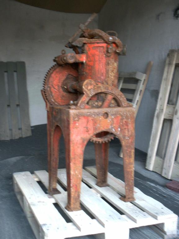 Wurstmaschine mit Farbe