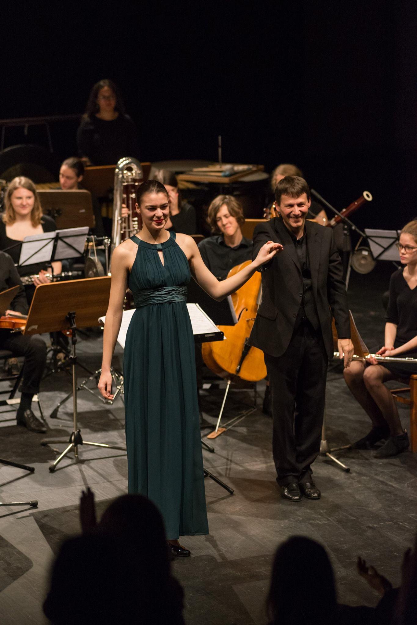 Sym-Phonia/Marbe - Nach unserem Konzert im Rahmen der Klangwerkstatt in den Sophiensaelen Berlin © André Fischer