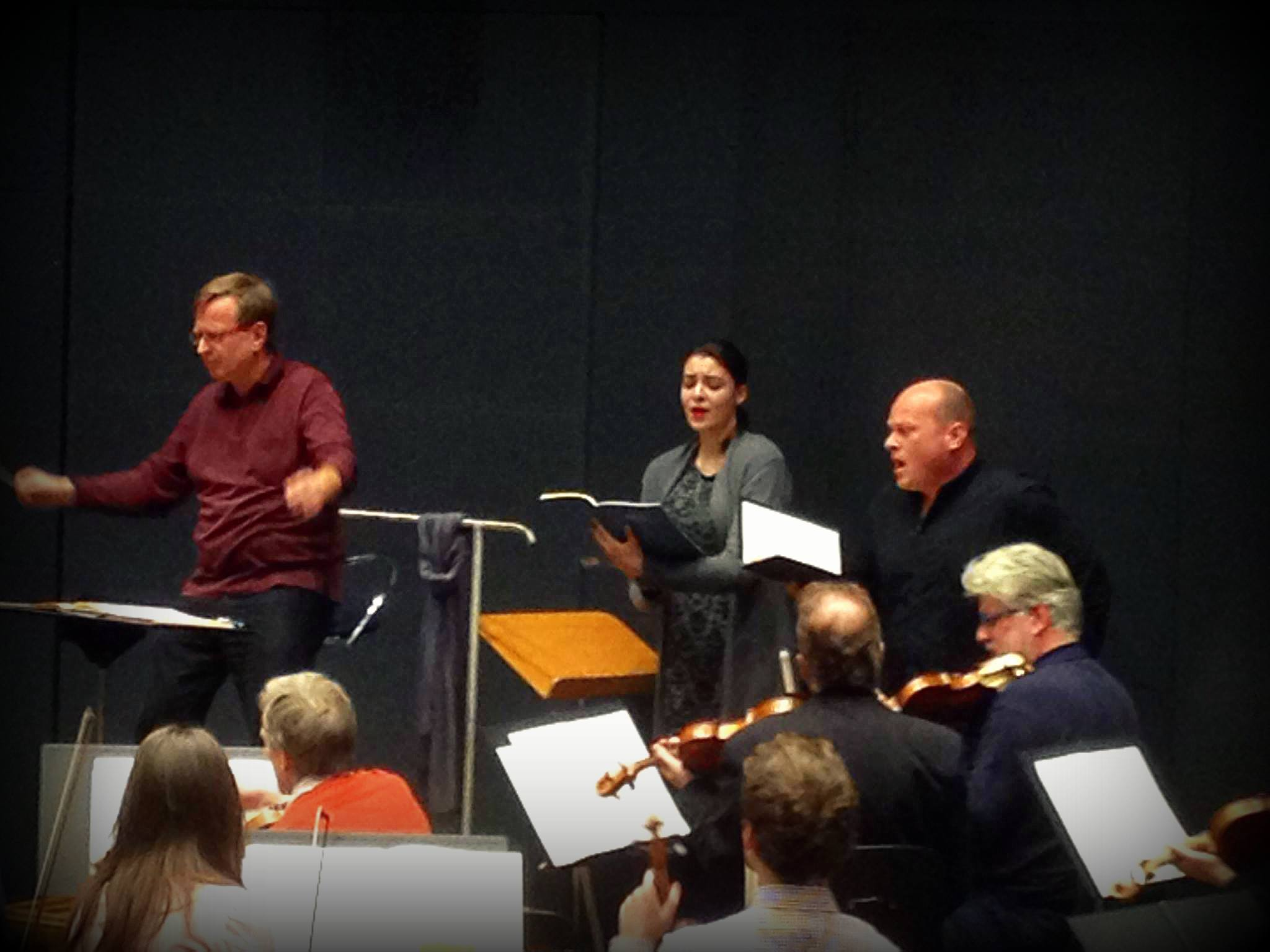 Rehearsal/Magnificat/Bach - Konzerthaus Berlin