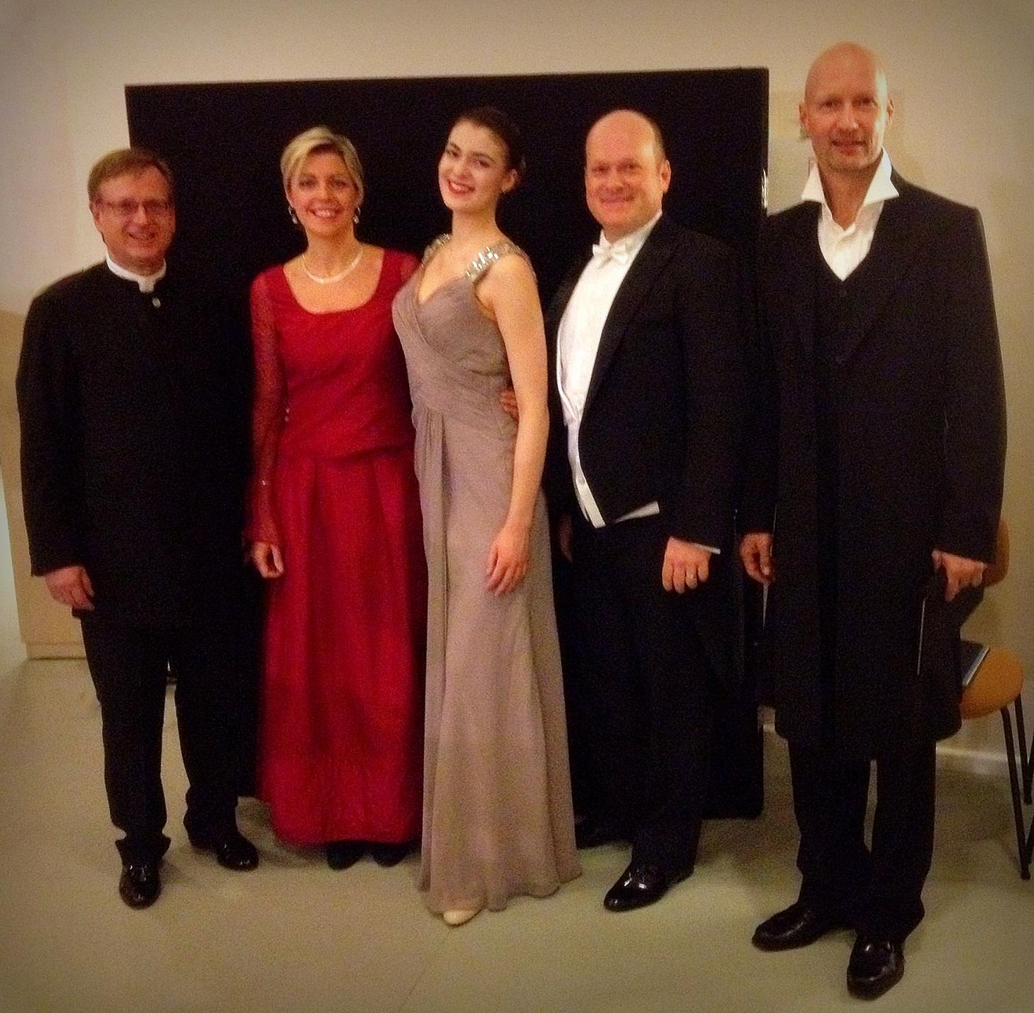 Magnificat/Bach - Nach unserem Konzert in der Berliner Philharmonie mit dem Dirigenten Jörg-Peter Weigle