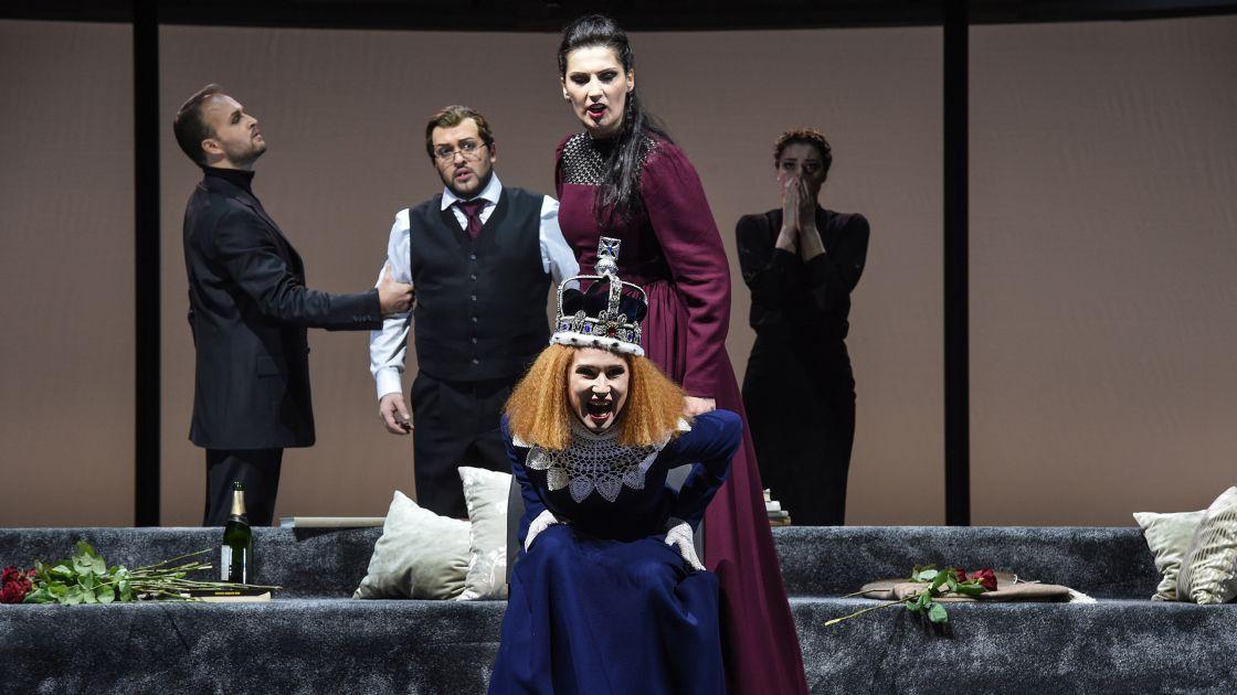 Anna Kennedy/Maria Stuarda/Donizetti - Deutsche Oper am Rhein Düsseldorf © Hans Jörg Michel