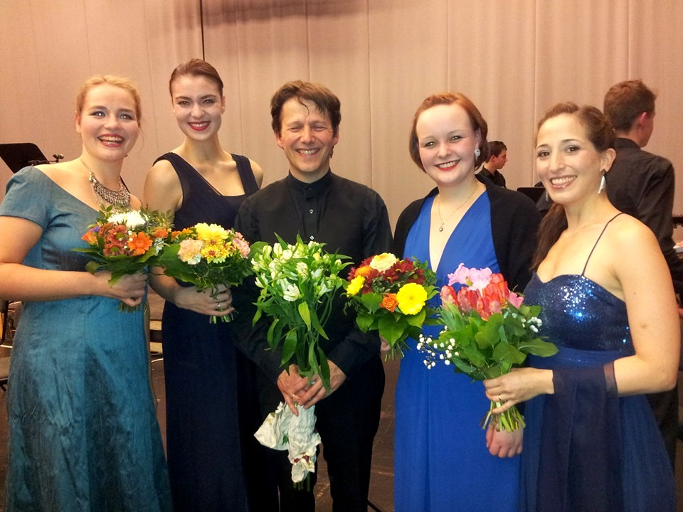 Tehillim/Reich - After our concert at Deutsche Oper Berlin with conductor Jobst Liebrecht