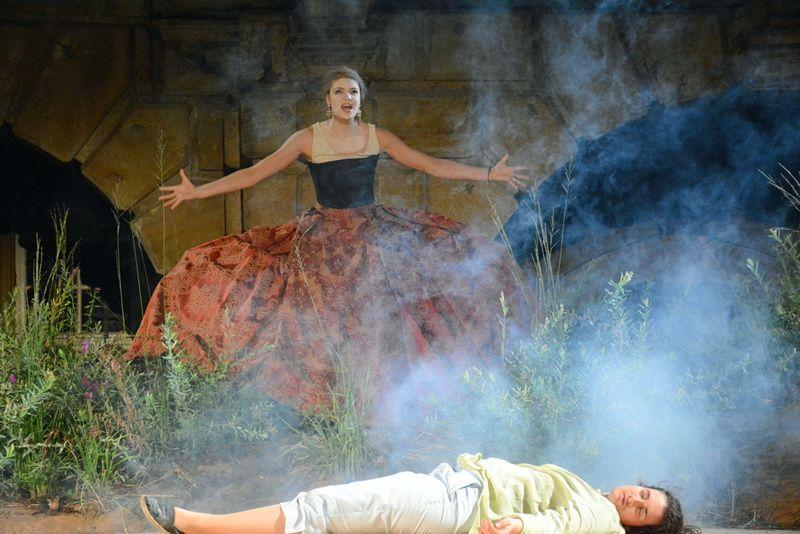 Knusperhexe/Hänsel und Gretel/Humperdinck - Junge Oper Schloss Weikersheim © JMD