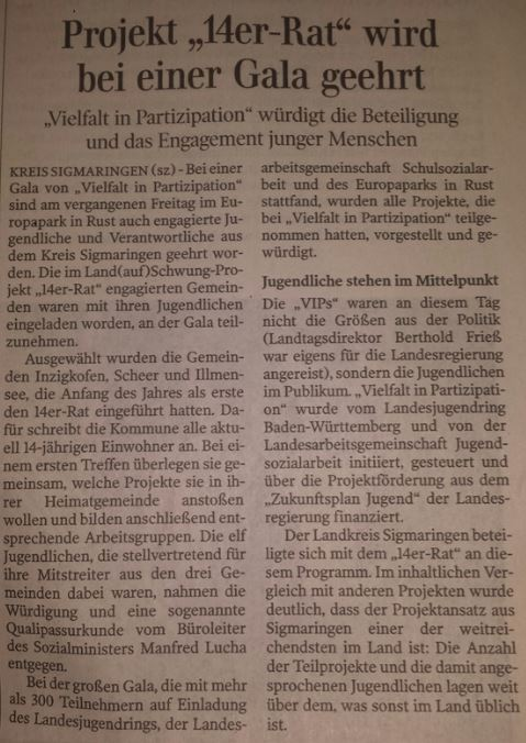 Schwäbische Zeitung 16-12-2016-