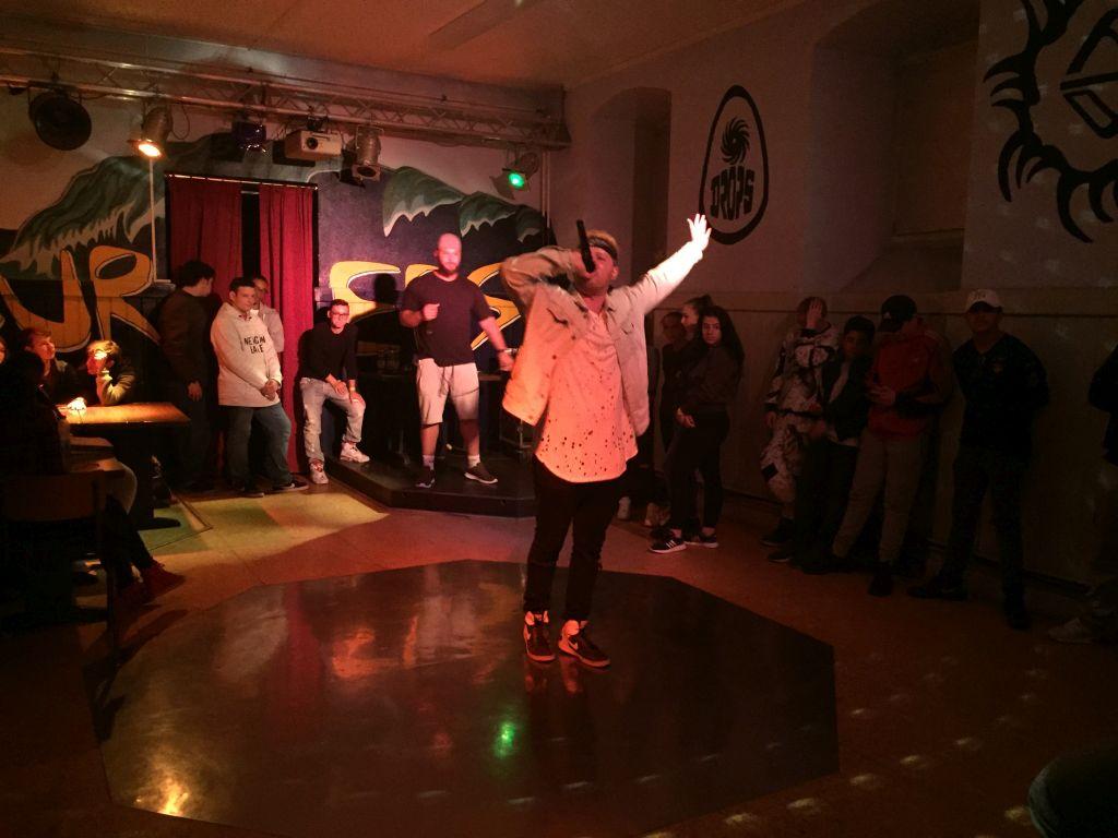 Rap-Battle im Jugendhaus