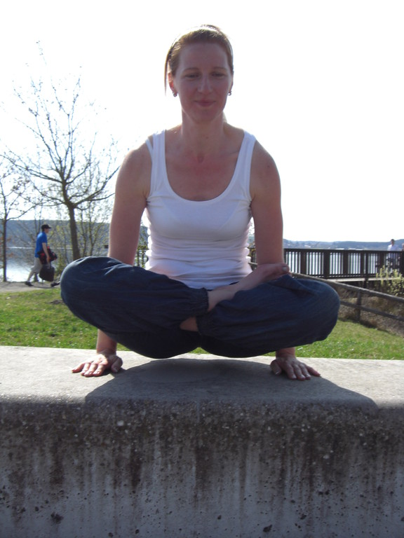 Yoga am Brombachsee