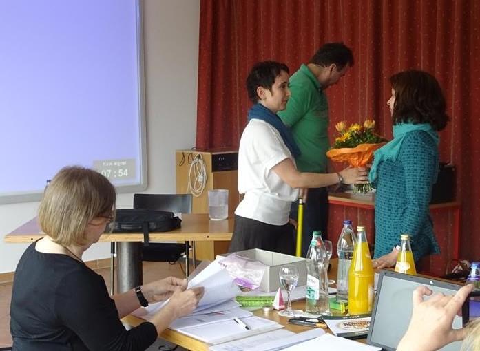 Tanja Kieß gibt Ihr Amt als stellvertretende Vorsitzende nach 6 Amtsjahren ab - wir danken Ihr herzlich für ihren Einsatz und Ihr Herzblut