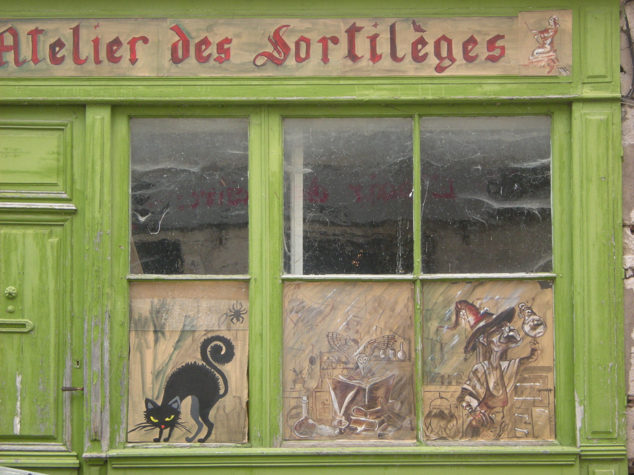 L'atelier des sortilèges Claudine Quersin