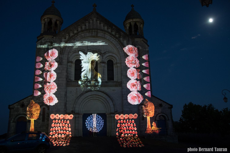 église St Martin été 2018  Castelnau Montratier