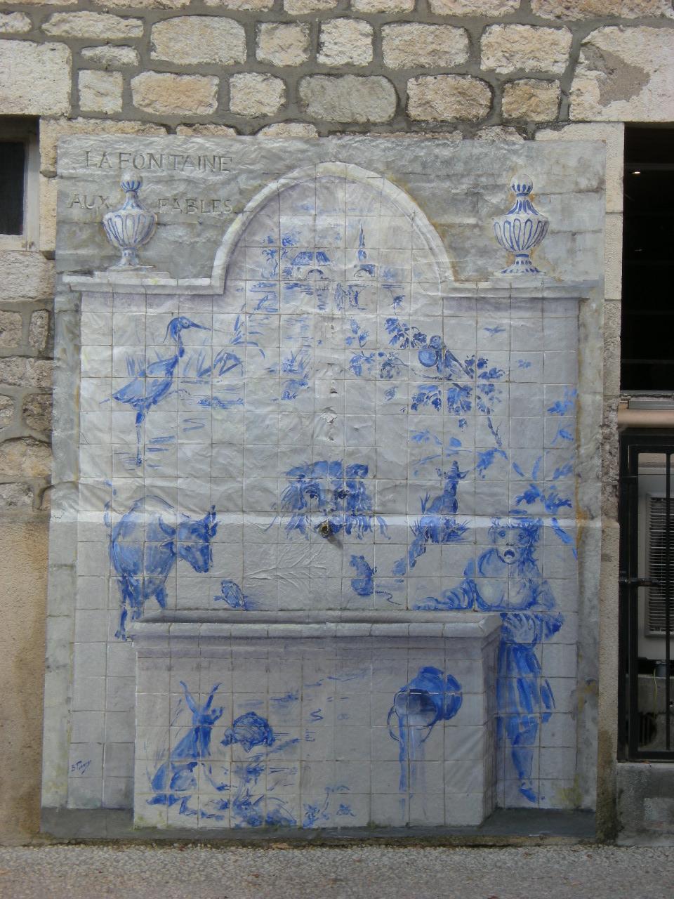 La fontaine aux fables Bernard Perrone
