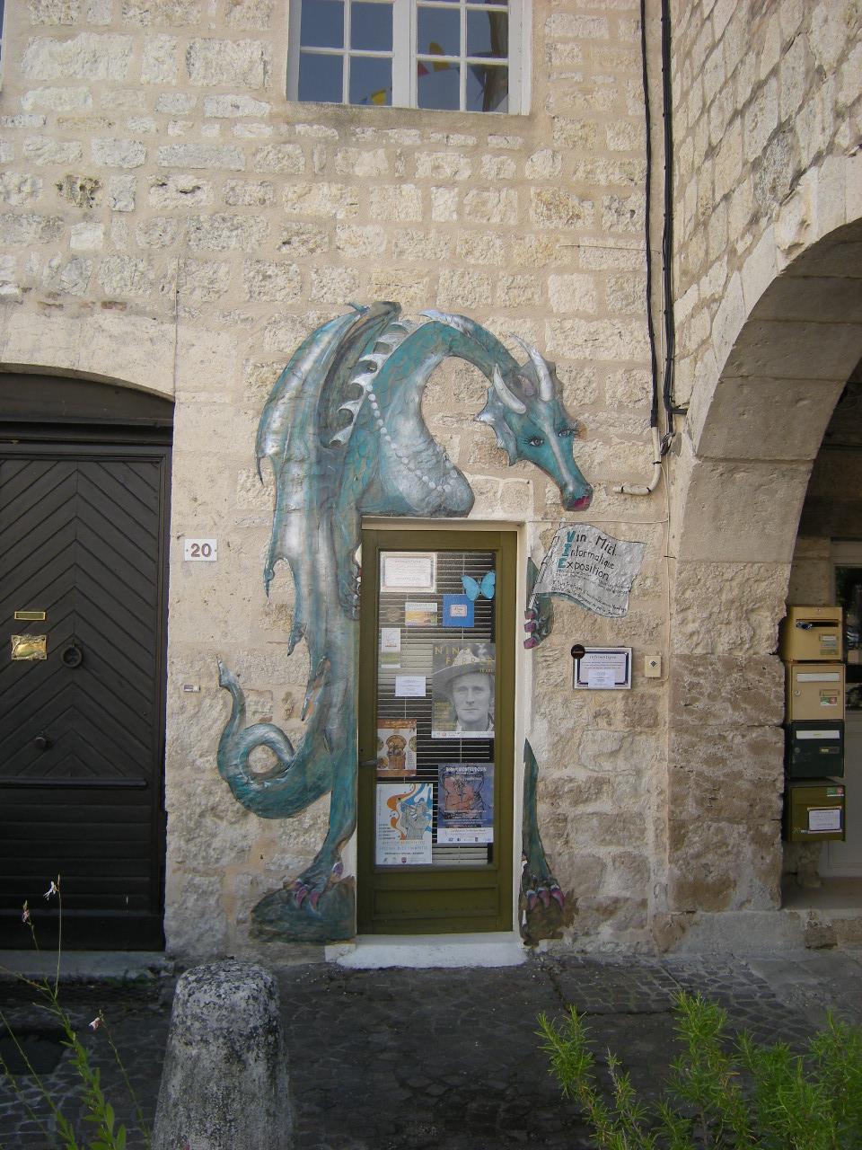 La dragonne - Claudine Quersin