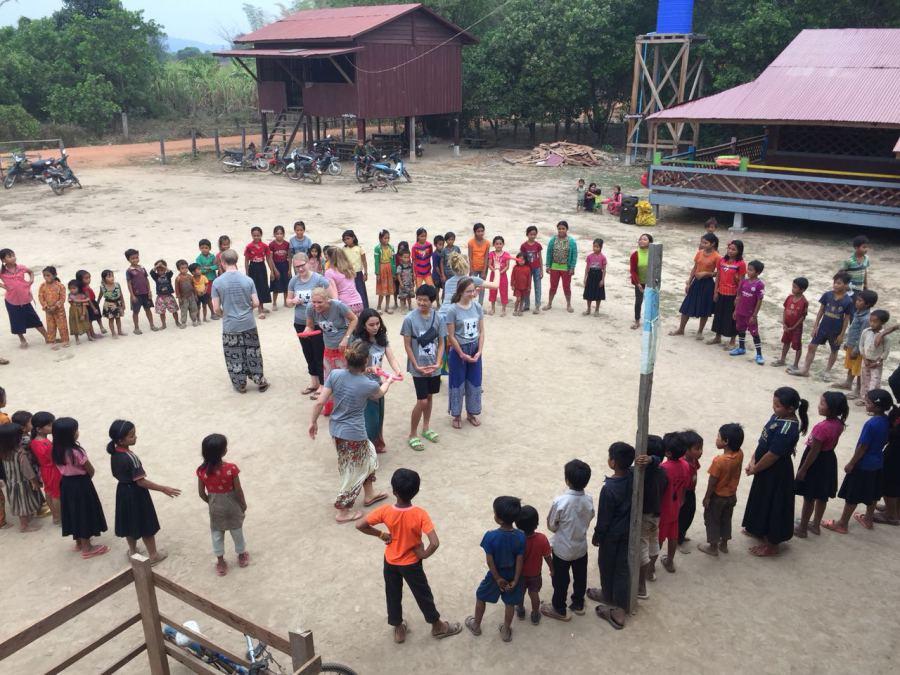 Sport und Spiel auf dem Schulhof