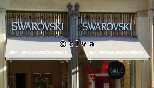 Toldo Articulado + Rotulación (Swarovski) Barcelona