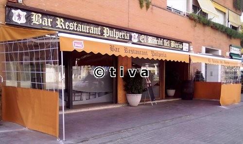 Toldo Articulado + Parabandas (Restaurante El Bierzo)