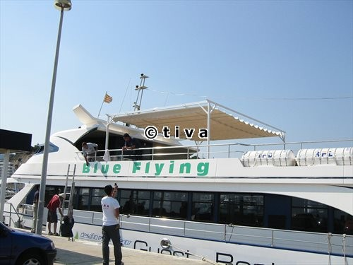 Toldo Corredero (Blue Flying) Barcelona