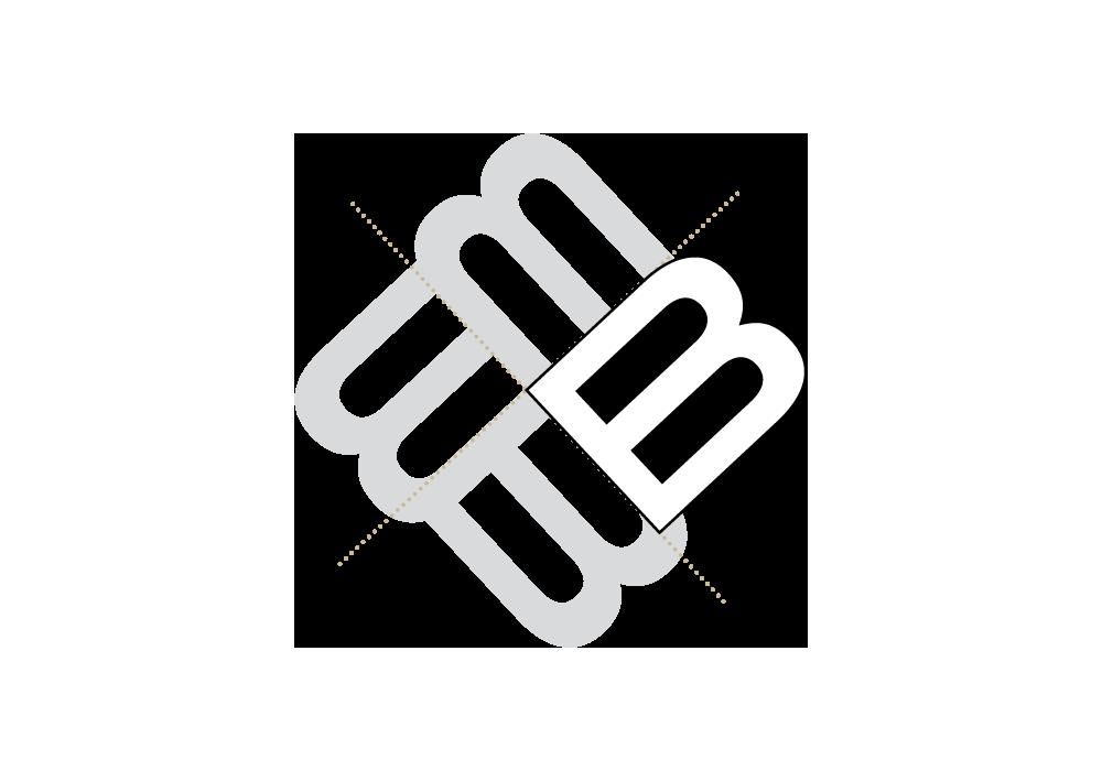 Konstruktionszeichnung: Logo Brammen Kommunikatioon