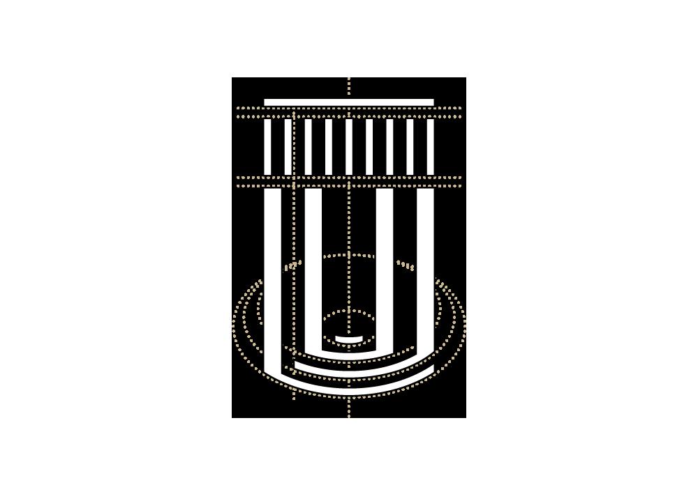 Konstruktionszeichnung: Logo Haus Rissen Hamburg