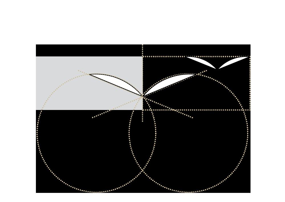 Konstruktionszeichnung: Logo Raum zum Atmen