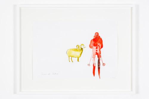 """""""Skier et Belier"""", 2006"""
