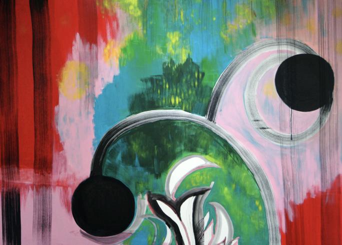 """Einzelausstellung """"Plant me a garden"""" in der Galerie Sels"""