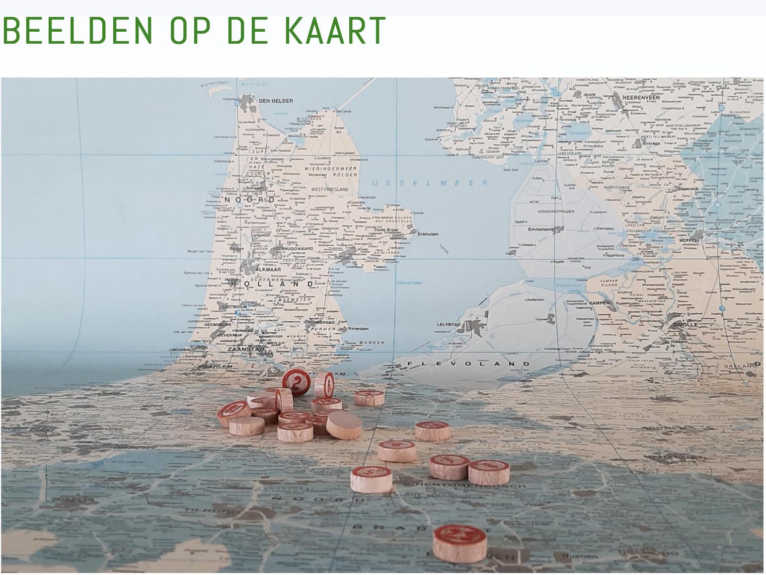 """""""Beelden op de Kaart"""", Teilnahme"""