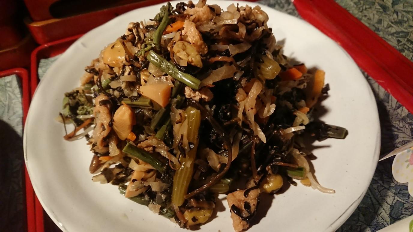 例)ひょう干しの煮物