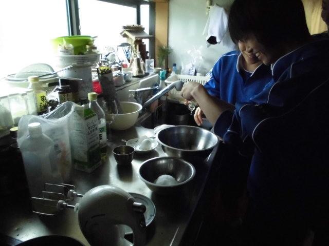 米粉シフォンケーキ・カッテージチーズ作り