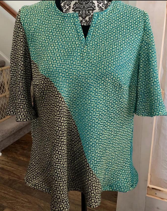 Amei's Handwoven Shirt
