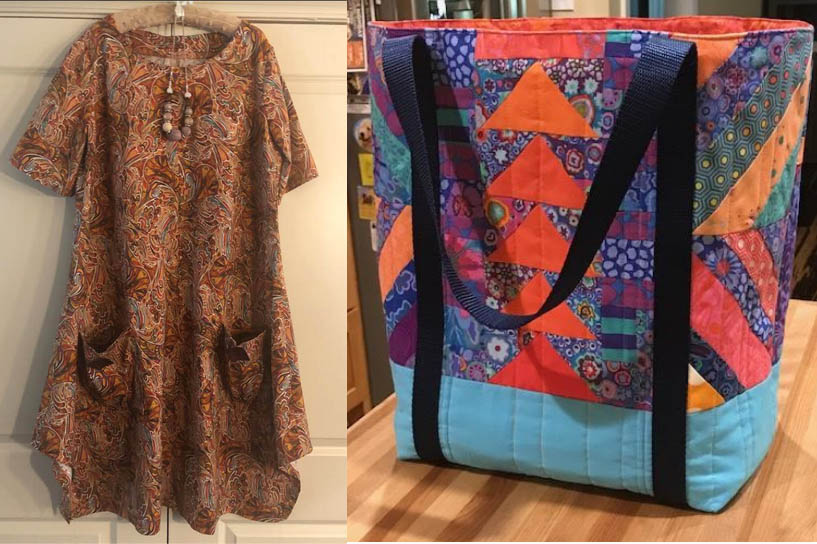 Karla's Tote & Phyllis's Dress
