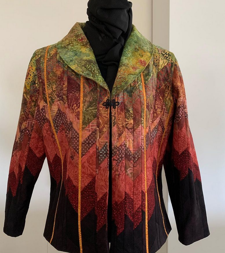Amei's Bargello Quilted Jacket