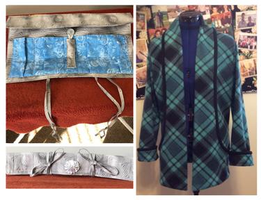Jewelry Pouch & Fleece Jacket