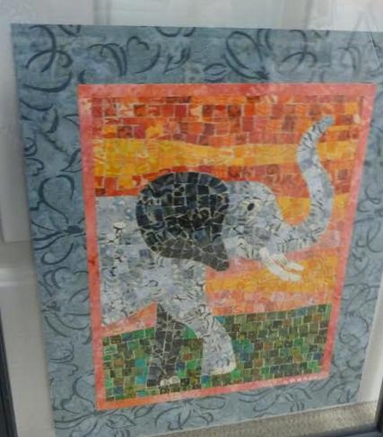 Lois's Mini Mosaic Quilt