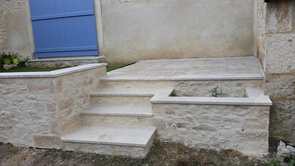 Aménagement extérieur, escaliers