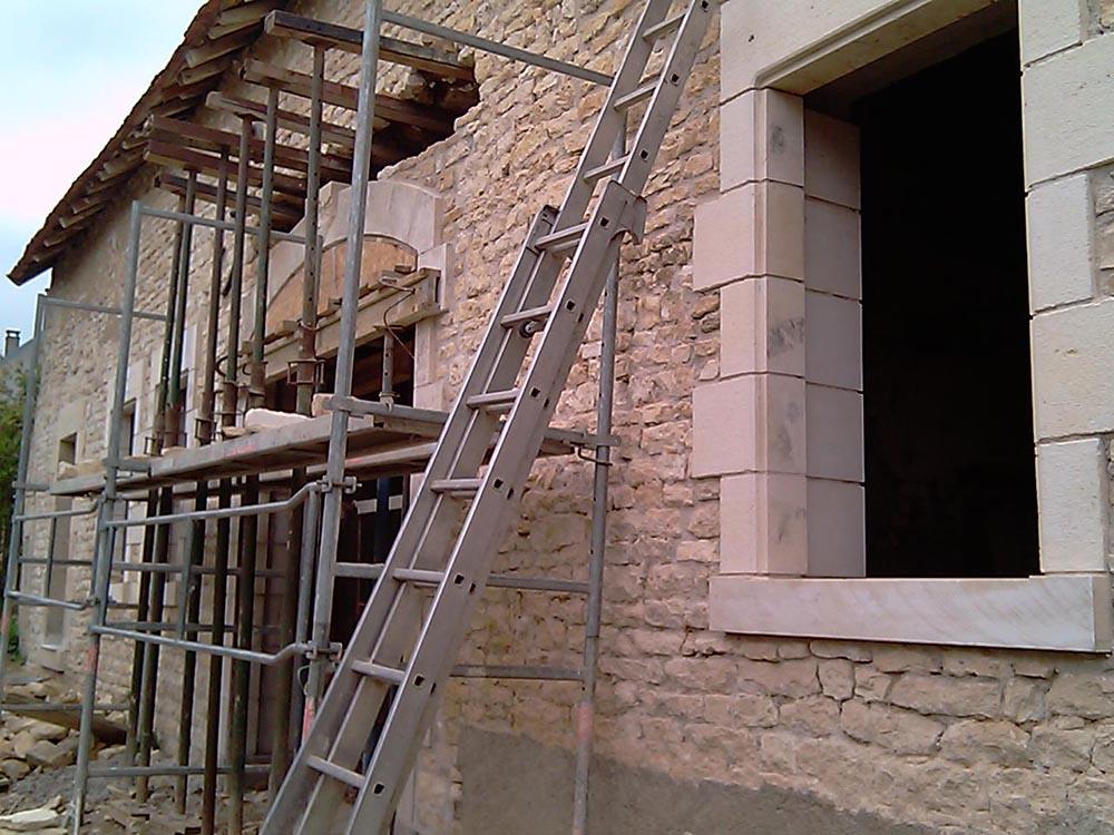 Création d'ouvertures pour portes et fenêtres