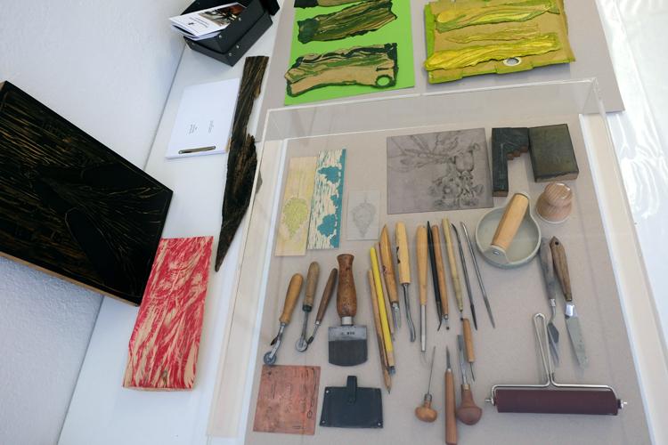 Werkzeuge und Druckstöcke