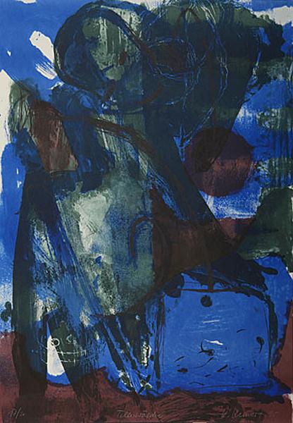 Katrin Kunert // Der Tellerwäscher 1996. 4-Farb-Lichtdruck.