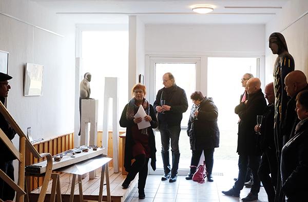Einführung in die Ausstellung von Dagmar Zehnel, Grafikerin